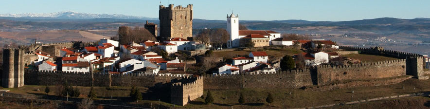 The city of Bragança